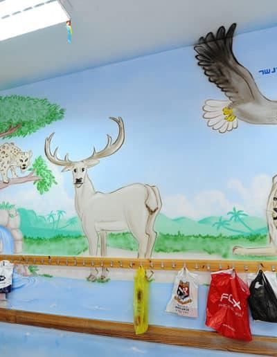 ציור על קיר - ציור מדהים של הצייר קירות מימון בדוש
