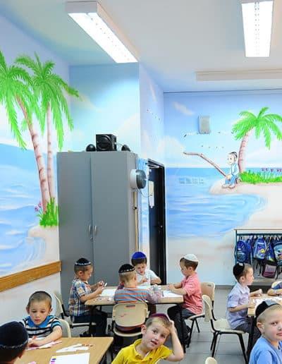 ציור קיר של ים בהוואי - ציור קיר לגנים