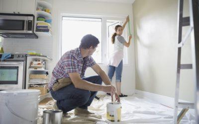 כמה טיפים וטכניקות שיעזרו לכם לצבוע את הקירות בבית