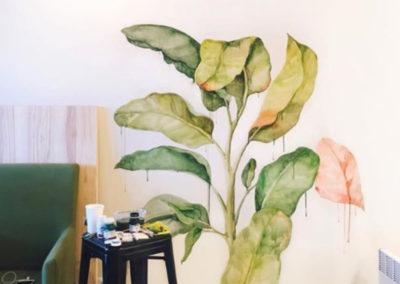 MBart ציורי קיר - ציורי קיר לסלון