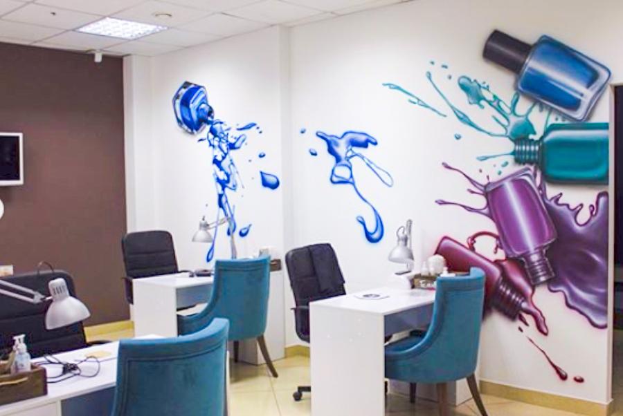 הטרנד החדש: ציורי קיר למשרדים