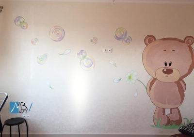 MBart ציורי קיר - ציור קיר לחדרי פעוטות