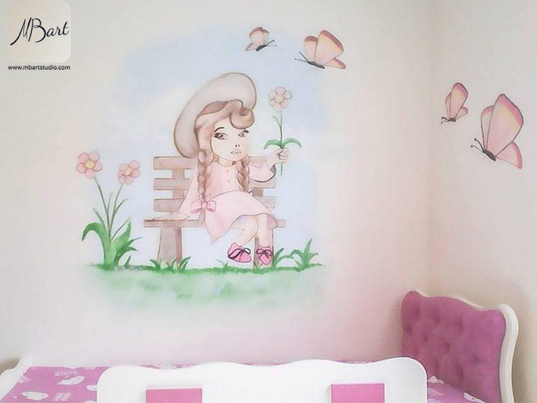 ציורי קיר לחדרי תינוקות