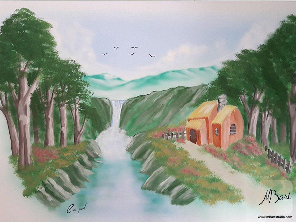 ציורי אומנות על הקיר
