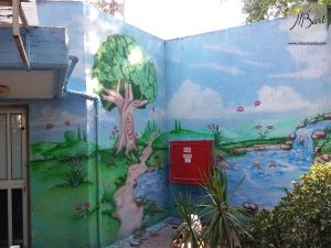 ציורי קיר לגני ילדים