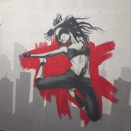ציורי גרפיטי על קירות