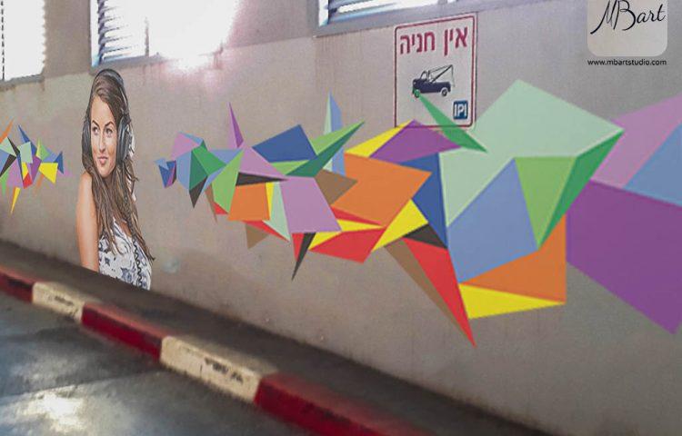 גרפיטי על קירות